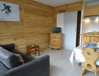 Nice studio for 4 persons close to the slopes...