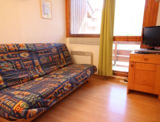 Studio for 4 persons in Vallandry center and...