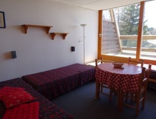 Large studio for 2 persons in Arc 1600 next to...