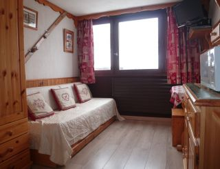 Studio for 2 persons in Tignes next to the...