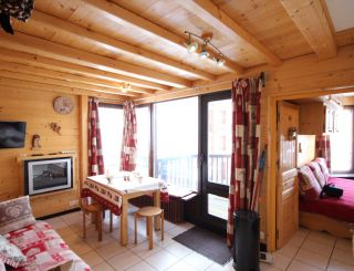 4 persons apartment with a nice view on the...